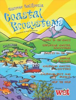 Discover California Coastal Ecosystem KIDs Activity Booklet