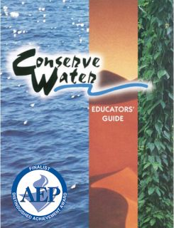 Conserve Water Educator Guide