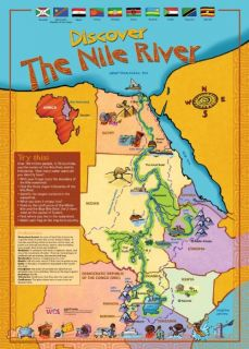 Discover the Nile River Poster Download