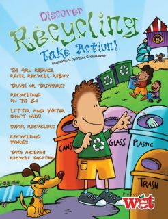 Discover Recycling, Take Action, KIDs Activity Booklet PDF EBOOK