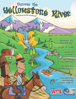 Discover the Yellowstone River, KIDs Activity Booklet PDF EBOOK