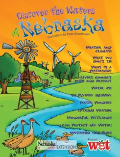 Discover the Waters of Nebraska, KIDs Activity Booklet PDF EBOOK