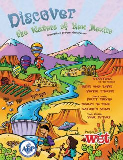 Discover the Waters of New Mexico, KIDs Activity Booklet PDF EBOOK