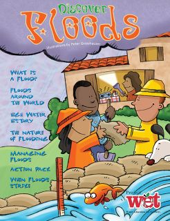 Discover Floods KIDs Activity Booklet, PDF EBOOK