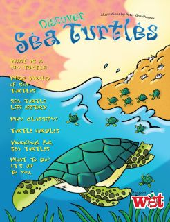 Discover Sea Turtles, KIDs Activity Booklet PDF EBOOK