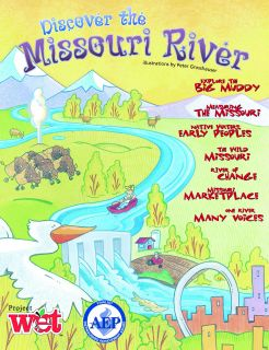 Discover the Missouri River KIDs Activity Booklet, PDF EBOOK