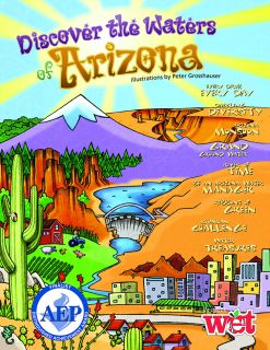 Discover the Waters of Arizona KIDs Activity Booklet, PDF EBOOK