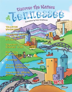 Discover the Waters of Tennessee KIDs Activity Booklet