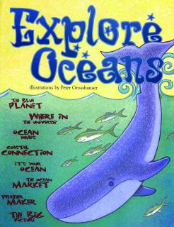 Explore Oceans KIDs Activity Booklet, PDF EBOOK