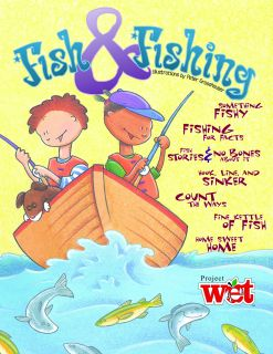 Fish and Fishing KIDs Activity Booklet, PDF EBOOK