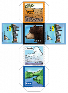 """Incredible Journey"" Activity Dice PDF DOWNLOAD"