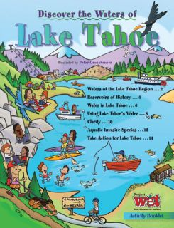Discover the Waters of Lake Tahoe, KIDs Activity Booklet PDF EBOOK