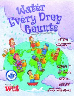 Water: Every Drop Counts KIDs Activity Booklet, PDF EBOOK