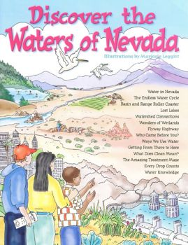 Discover the Waters of Nevada KIDs Activity Booklet, PDF EBOOK