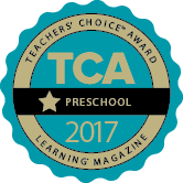 Learningâ Magazine 2016 Teachers' ChoiceSM Award for Preschool